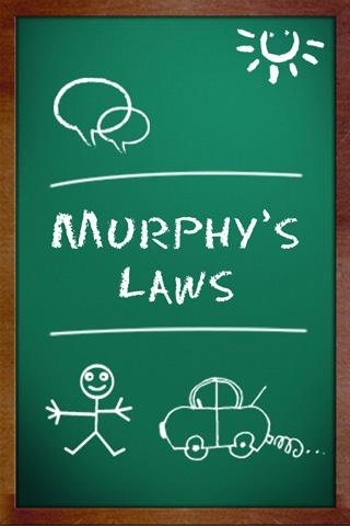 Murphy's Lesser Known Laws